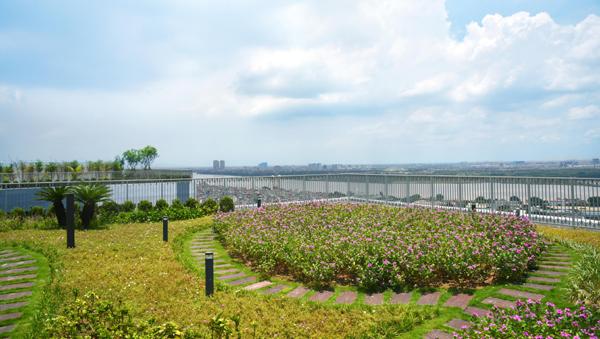 Những khu vườn ngập tràn cảm xúc ở Imperia Sky Garden