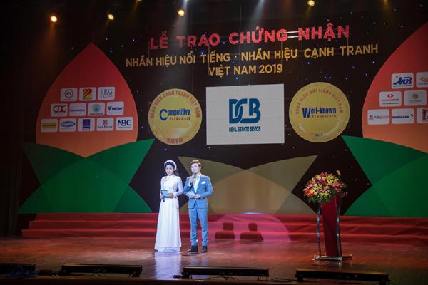 Tập đoàn DCB vào Top 50 Nhãn hiệu nổi tiếng Việt Nam