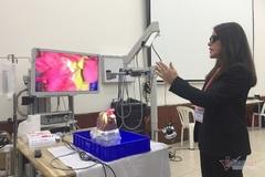 19 bác sĩ châu Á đến Sài Gòn học phẫu thuật nội soi tiết niệu