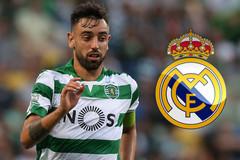 Real tăng tốc ký Bruno Fernandes, MU tống khứ Darmian