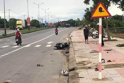 Tông vào biển báo giao thông, mẹ chồng và con dâu tử vong ở Quảng Trị