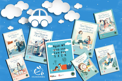 Tặng 24.000 cuốn sách miễn phí của Bộ Giáo dục Mỹ cho cha mẹ Việt