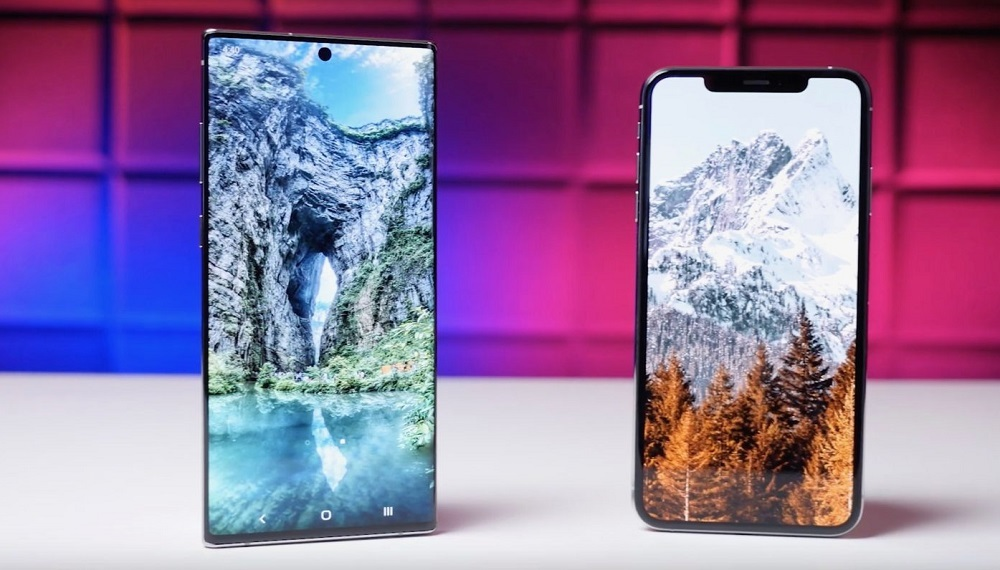 iPhone XS Max,Galaxy Note 10+