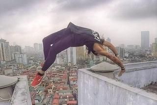 9X nhảy qua hai nóc nhà cao 18 tầng: '5 năm kinh nghiệm mới dám làm'