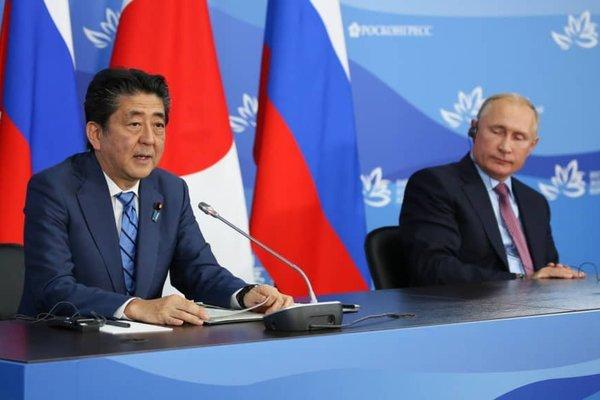 Nga,Nhật,Tổng thống Nga Putin,Thủ tướng Nhật Shinzo Abe,tranh chấp,hòa bình