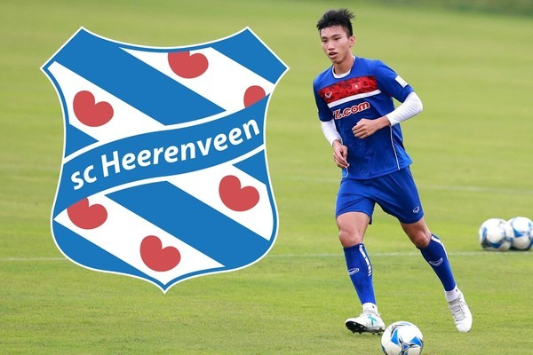 Đoàn Văn Hậu,CLB SC Heerenveen,Hà Nội FC,tuyển Việt Nam