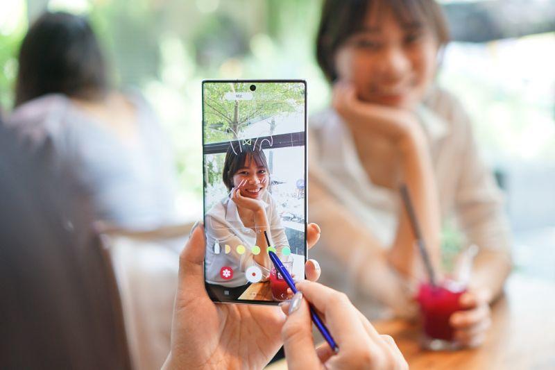 Trải nghiệm những tính năng mới trên camera Galaxy Note10