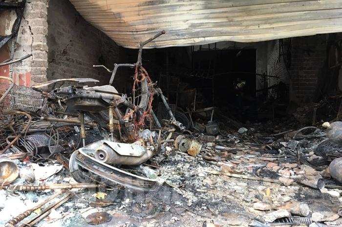 Cháy nhà ở Hải Dương, mẹ cùng con gái 1 tuổi thiệt mạng