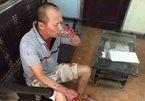 Anh chém em ruột ở Hà Nội, gây án xong về nhà uống nước chè