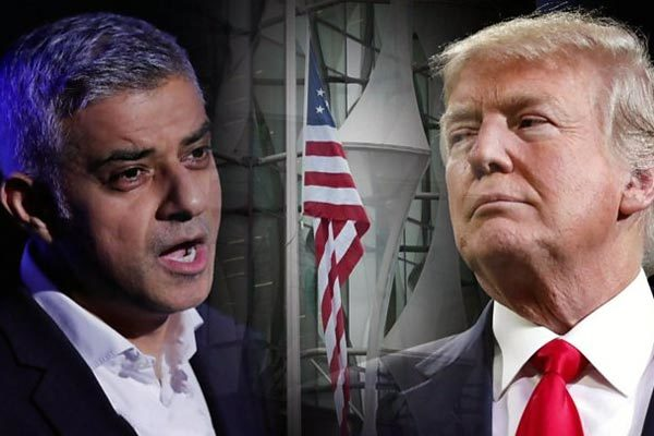 thị trưởng London,Donald Trump,công kích