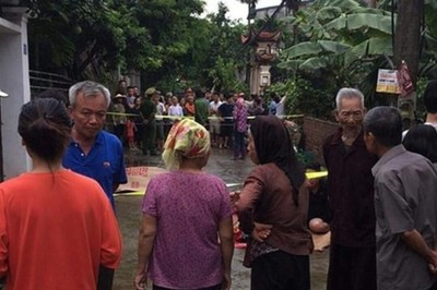 Tin pháp luật số 221, thảm án rúng động làng quê