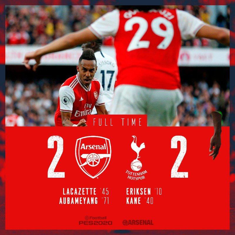 Arsenal,Tottenham
