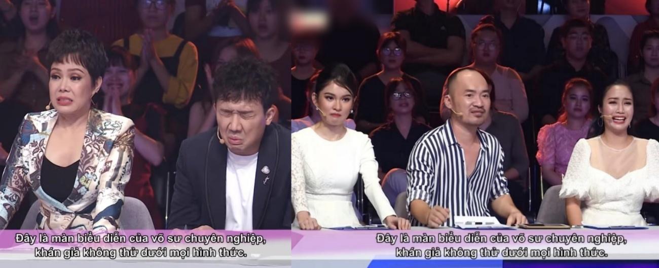 Người bí ẩn,Trấn Thành,Việt Hương,Tiến Luật,Ốc Thanh Vân,Thùy Dung