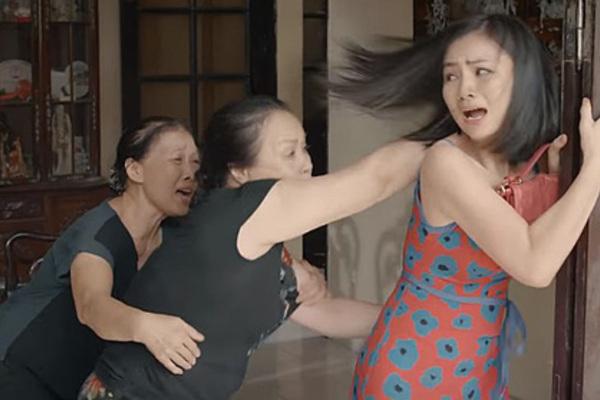 Nhân vật gây bức xúc nhất cho khán giả 'Hoa hồng trên ngực trái'