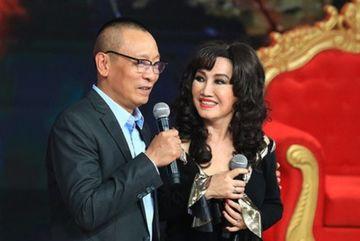 Nhà báo Lại Văn Sâm vỡ òa vui sướng vì gặp gỡ thần tượng Thanh Lan
