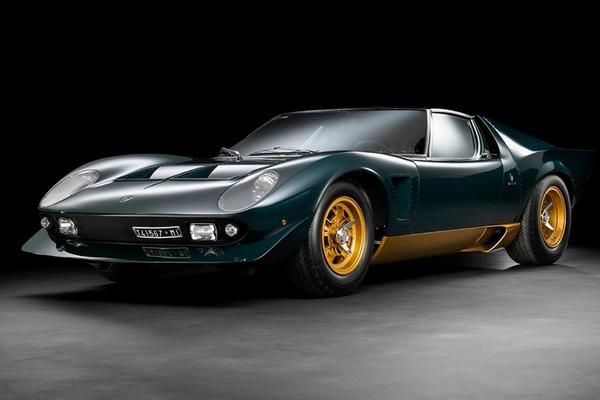 Ngắm siêu xe Lamborghini Miura độc nhất thế giới