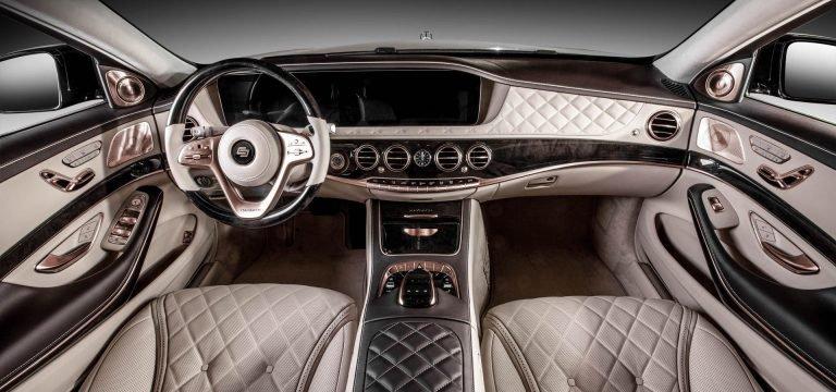 Mercedes-Maybach S650 dát vàng hồng toàn bộ nội thất