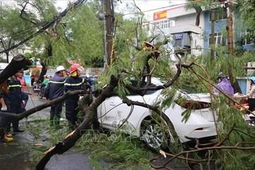 Storm Podul causes three deaths in Vietnam