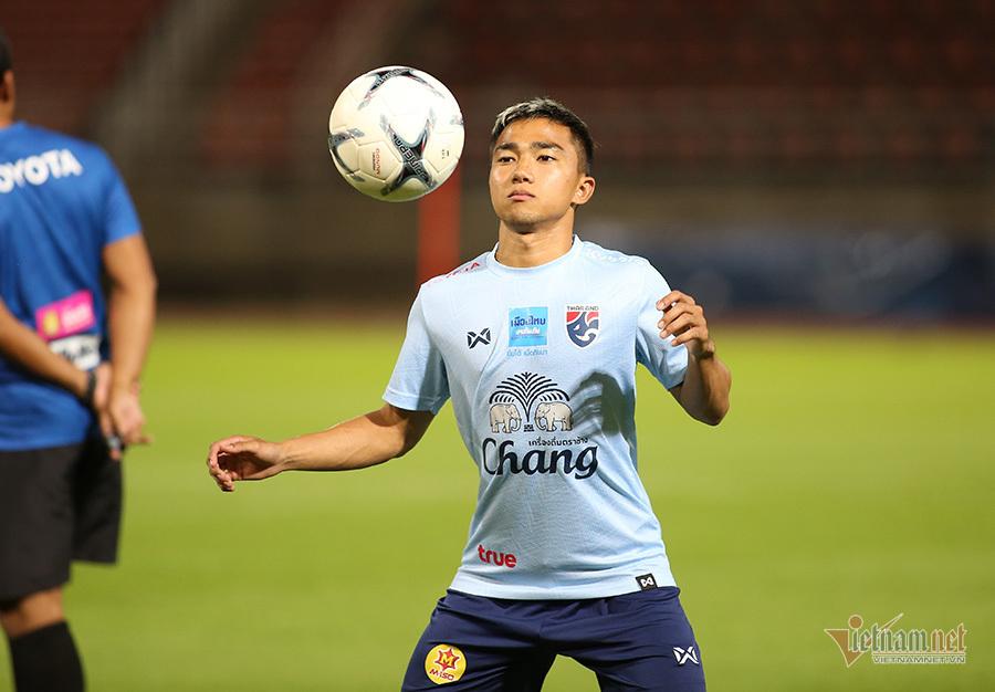 'Messi Thái Lan' bị nghi chấn thương trước trận gặp Việt Nam