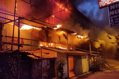 No serious contamination risks after Hanoi light bulb warehouse blaze