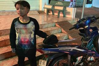 Bé trai 13 tuổi chạy xe máy gần 300km từ Kon Tum sang Đắk Lắk