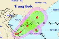 Áp thấp nhiệt đới vào Quảng Trị-Thừa Thiên Huế, quay lại biển, có thể thành bão