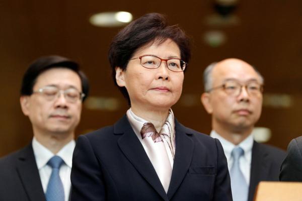 Lãnh đạo Hong Kong nói sẽ từ chức nếu có thể