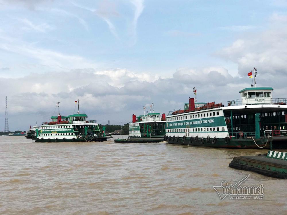 Cận cảnh nơi chuẩn bị xây cầu Cát Lái nối TP.HCM và Đồng Nai