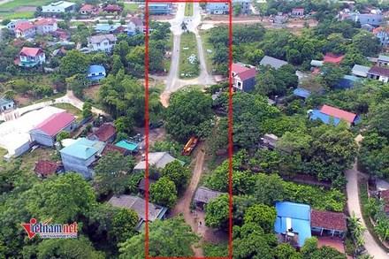 Nhà thầu phân trần nguyên nhân đường 2km xây 13 năm chưa xong ở Vĩnh Phúc