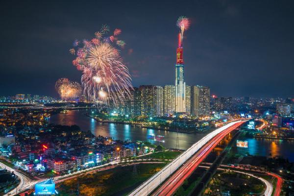 Có gì ở điểm ngắm pháo hoa mừng Quốc khánh đẹp bậc nhất TP.HCM