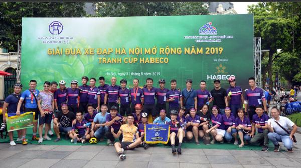 Sôi động Giải đua xe đạp Hà Nội mở rộng 2019 tranh cúp Habeco