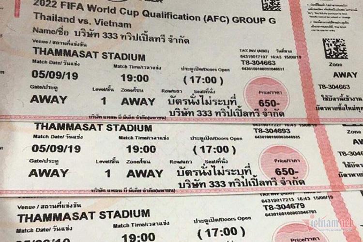 Sốt vé trận Việt Nam vs Thái Lan: Gần 10 triệu/cặp - Ảnh 1.