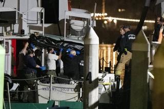 Hình ảnh tang thương vụ cháy tàu ngoài khơi Mỹ, hơn 25 người chết