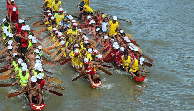 Lễ hội đập trống,lễ hội đua thuyền
