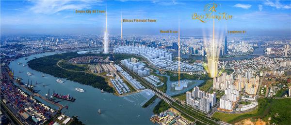 Paris Hoàng Kim - căn hộ cao cấp trên 'đất vàng' quận 2