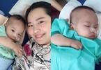 Ca sĩ Minh Hiền bật khóc khi con trai 1 tuổi ghép tủy thành công tại Singapore