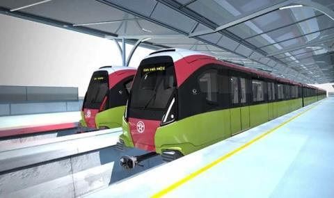 Hanoi-Nhon elevated railway to be completed by 2022