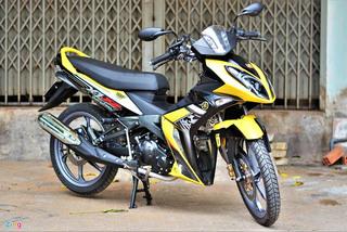 Chiêm ngưỡng Yamaha X1R hàng hiếm mang biển số đẹp