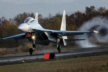 Chiến cơ Nga rơi khi tập luyện, 2 phi công mất tích
