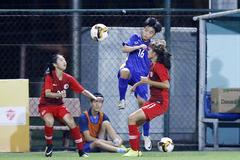 Nữ Việt Nam nguy cơ trắng tay ở giải U15 quốc tế 2019