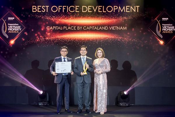 Capital Place thắng lớn ở Giải thưởng BĐS Việt Nam 2019