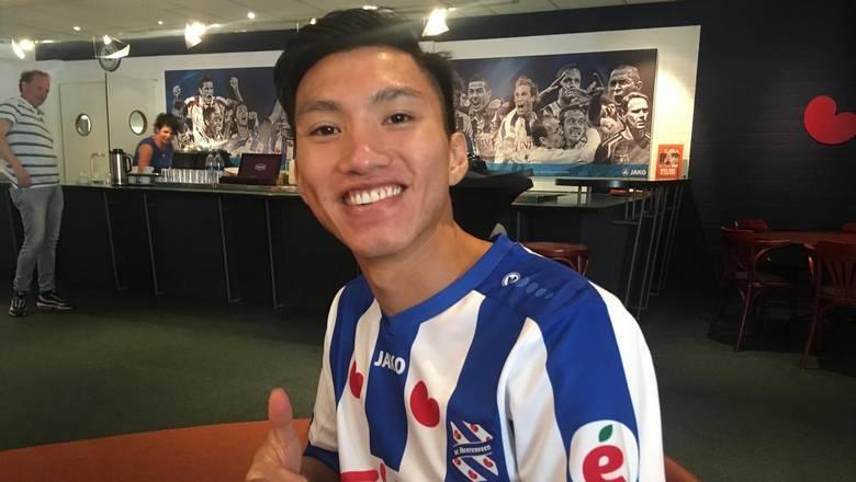 Đoàn Văn Hậu,CLB Heerenveen,CLB SC Heerenveen,CLB Hà Nội,tuyển Việt Nam
