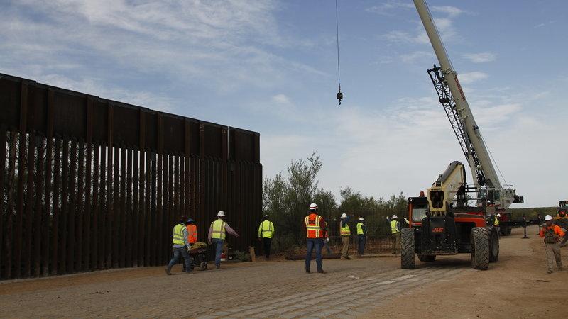 Mỹ,Mexico,bức tường biên giới,Tổng thống Trump,Đảng Dân chủ