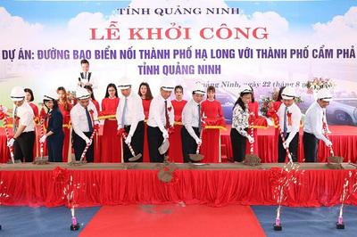 Quảng Ninh làm đường bao biển hơn 1.300 tỷ đồng