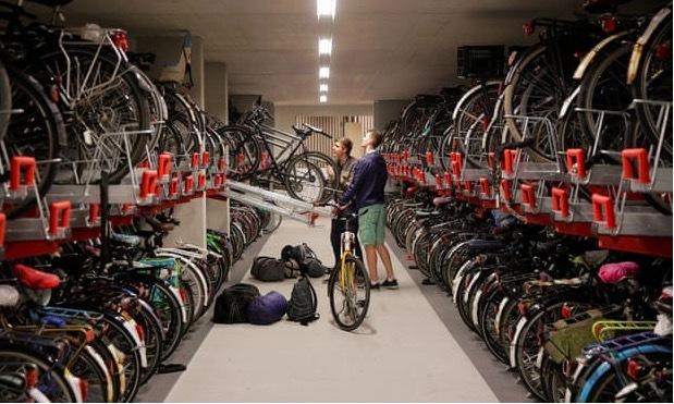 Điểm đặc biệt ở đất nước xe đạp đông hơn dân