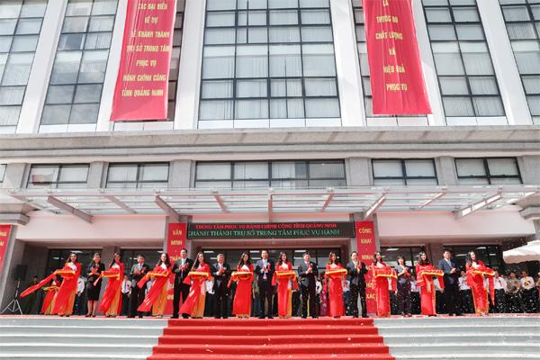 Khánh thành trụ sở Trung tâm phục vụ hành chính công Quảng Ninh