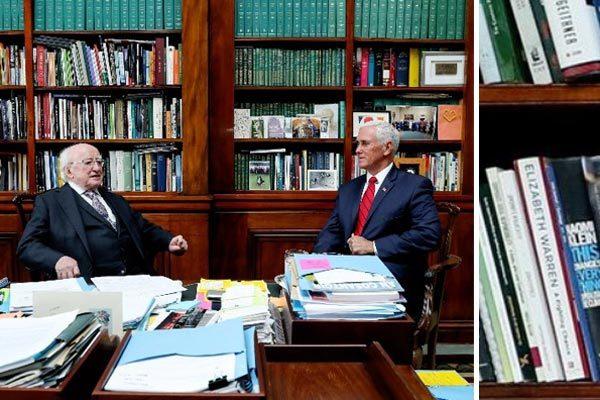 Phó Tổng thống Mỹ 'hớ' nặng khi thăm Ireland