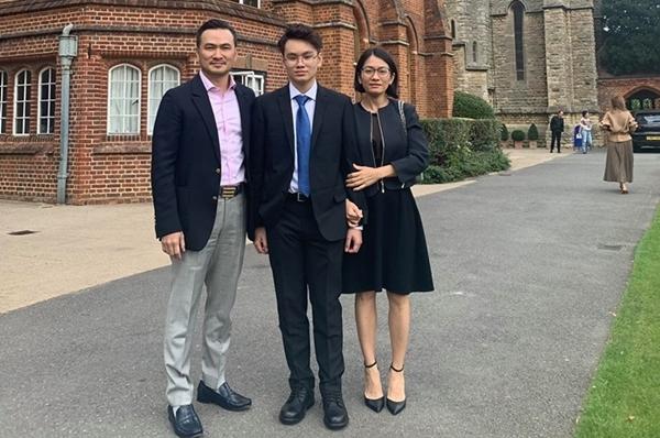 Chi Bảo viết tâm thư nhắn nhủ con trai du học tại Anh