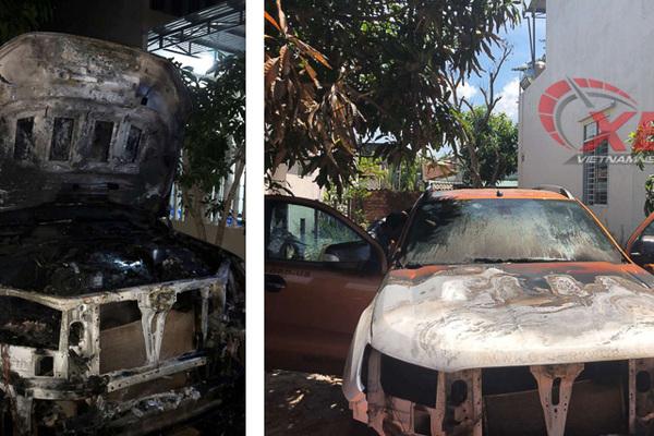 Ford Ranger bỗng phát cháy, 2 tháng điều tra vẫn không rõ nguyên nhân
