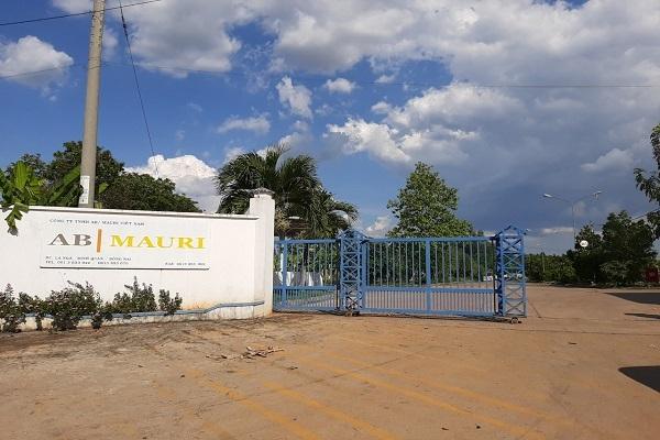 Công ty AB Mauri bị phát hiện nhiều sai phạm trong xử lý chất thải